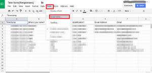 Salesforce | Create leads from google form responses