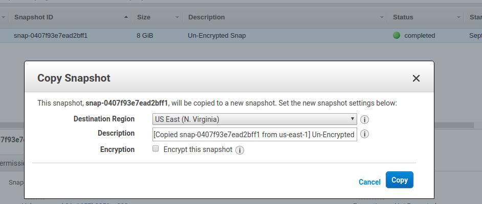 encrypt EBS 6
