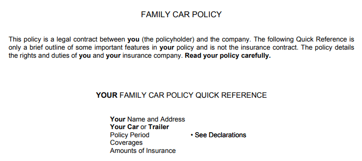 insuring agreement
