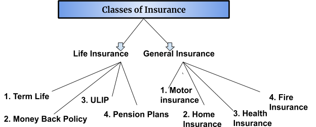 classes of insurance