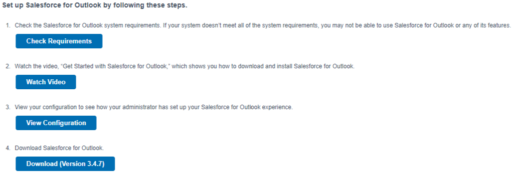 salesforce outlook installation 4